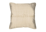 Throw Pillow in Sunbrella Canvas Flax 5492