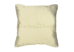 Throw Pillow in Sunbrella Canvas Vellum 5498