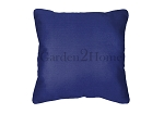 Throw Pillow in Sunbrella Canvas True Blue 5499
