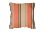 Sunbrella Throw pillow in Passage Poppy 56071