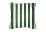 Throw Pillow in Sunbrella Mason Forest Green 5630