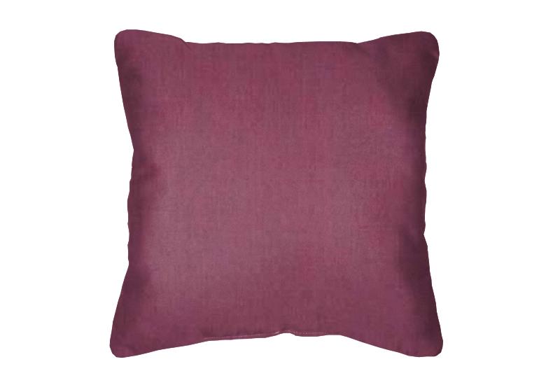 Throw Pillow In Sunbrella Canvas Iris 57002