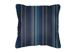 Sunbrella Throw pillow in Stanton Lagoon 58001