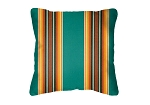 Throw Pillow in Sunbrella Traveler Lakeside 58007