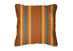 Throw Pillow in Sunbrella Scout Clay 58008