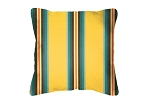 Throw Pillow in Sunbrella Pioneer Sunrise 58011