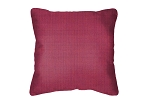 Throw Pillow in Sunbrella Volt Fuchsia 58015