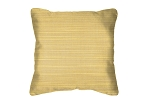 Sunbrella Throw pillow in Dupione Cornsilk 8012