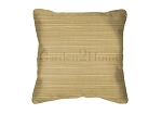 Sunbrella Throw pillow in Dupione Bamboo 8013