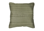 Sunbrella Throw pillow in Dupione Laurel 8015