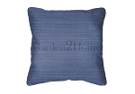 Sunbrella Throw pillow in Dupione Galaxy 8016