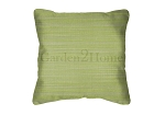 Throw Pillow in Sunbrella Dupione Peridot 8024