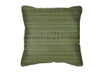 Throw Pillow in Sunbrella Dupione Palm 8052