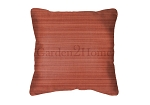 Sunbrella Throw pillow in Dupione Papaya 8053