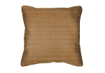 Throw Pillow in Sunbrella Dupione Caramel 8059