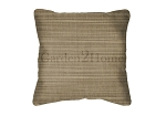 Sunbrella Throw pillow in Dupione Latte 8066
