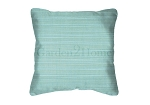 Sunbrella Throw pillow in Dupione Celeste 8067