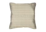 Sunbrella Throw pillow in Dupione Dove 8069