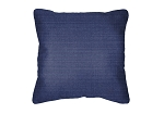 Throw Pillow in Sunbrella Echo Midnight 8076