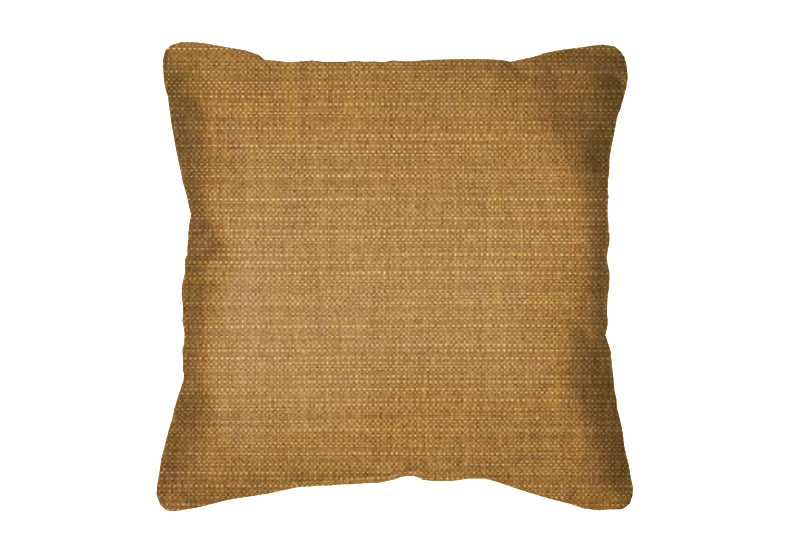 Throw Pillow in Sunbrella Echo Teak 8077