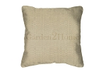 Sunbrella Throw pillow in Linen Champaign 8300