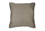 Throw Pillow in Sunbrella Linen Taupe 8374