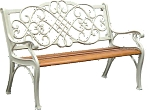 Patio Furniture Bench Traditional Kiddie Cast Iron Princess