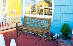 Patio Furniture Bench Traditional Aluminum Mississipi