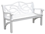 Patio Furniture Bench Aluminum Providence