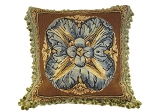 Aubusson Pillows - Blue Flower (I) (20