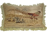 Aubusson Pillows - One Pheasant (Right) (22