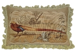 Aubusson Pillows - One Pheasant (Left) (22