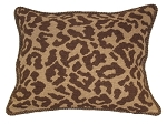 Needlepoint Pillow -  Leopard (20