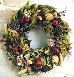Wreath Dried Magnolia Napa Harvest