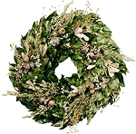 Wreath Dried Magnolia Low Country Marsh