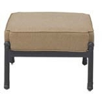 Patio Furniture Deep Seating Ottoman Cast Aluminum Madsion