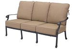 Patio Furniture Deep Seating Sofa Cast Aluminum Madsion