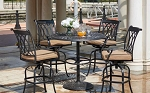 Capri Cast Aluminum 5-Pc Pub Dining Set