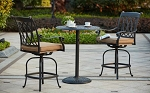 Patio Furniture Dining Set Cast Aluminum 30