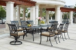 Patio Furniture Dining Set Cast Aluminum Series 60 92