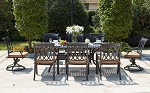 Patio Furniture Dining Set Cast Aluminum Series 30 92