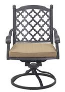 Madsion Cast Aluminum Swivel Rocker