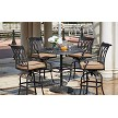 Capri Cast Aluminum 5-Pc Bar Set