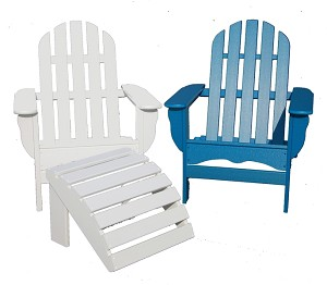 Patio Furniture Adirondack Chair Polyresin Traditional