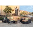 All Weather Wicker Sectional Deep Seating