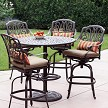 Cast Aluminum Pub Dining Set