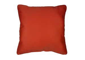 Throw Pillow in Sunbrella Canvas Melon 5415