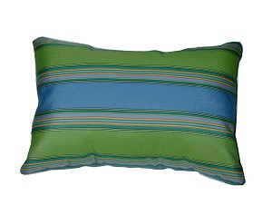 "Lumbar Pillows 12"" x 18"" Sunbrella Bravada Limelite 5602 (Set/2)"