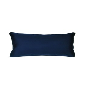 "Lumbar Pillow Indoor/Outdoor 26""x11"" Sunbrella Solid Color"
