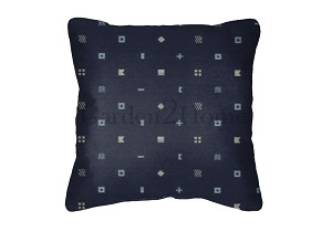 Throw Pillow in Sunbrella Navigation Marine 1354-0001